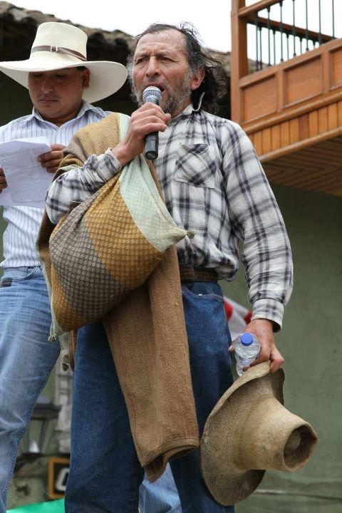 Daniel Gil - Dirigente Distrito de Huasmín, Provincia de Celendín