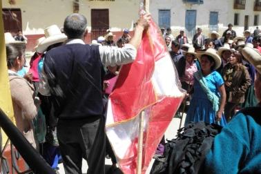 Gobernador destituido en el distrito de sorochuco