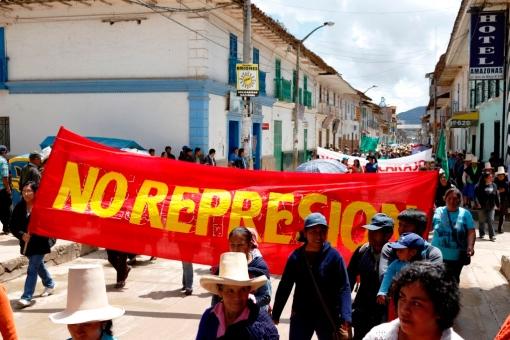 No represión