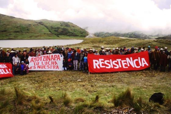 Ayotzinapa, tu lucha es nuestra