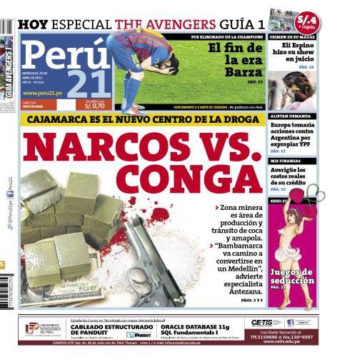 Narcos vs Conga