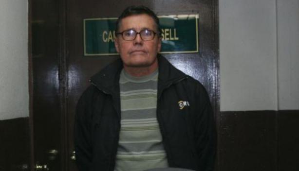 Detención de ex militar en Lima